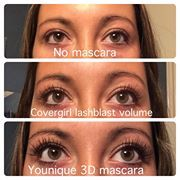 ~*Younique 3D Lashes*~ Easy 3 step mascara that creates beautiful lashes are mistakable for fake lashes.  https://www.youniqueproducts.com/KimberlyDickey