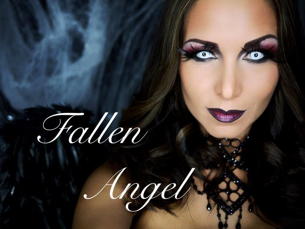 fallen angel makeup tutorial halloween ideas pinterest angel makeup makeup and. Black Bedroom Furniture Sets. Home Design Ideas