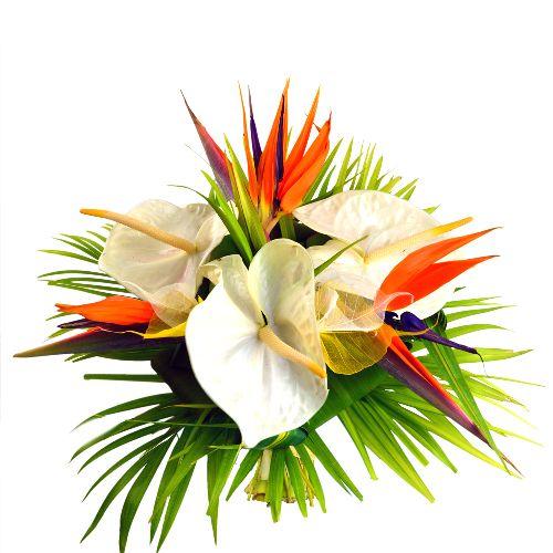 F te des m res bouquet de fleurs exotiques d licatesse floral pinterest flowers for Bouquet de fleurs raiponce