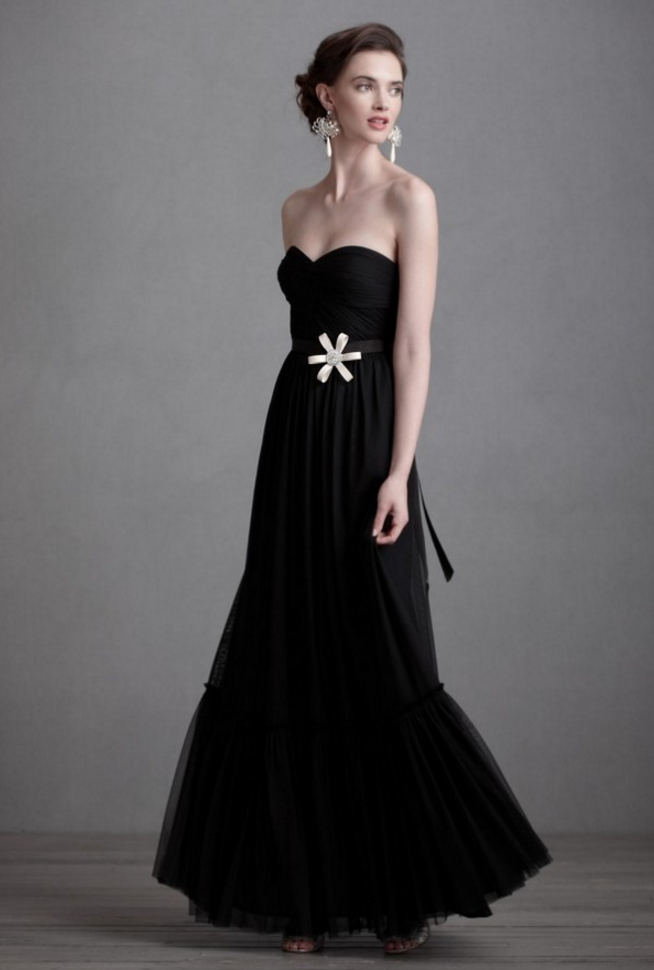 Black Elegant Wedding Dresses