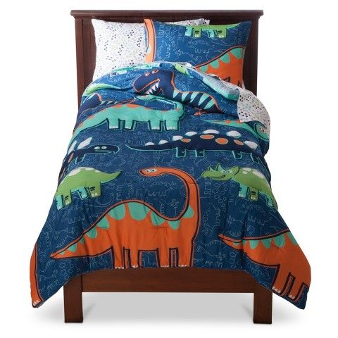 Circo Dino Comforter Set Blue Twin Full Bedding Sets Comforter Sets Boys Bedding