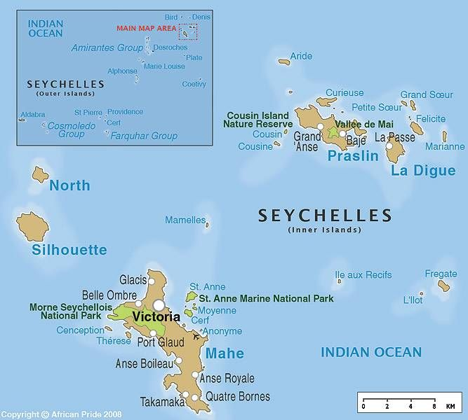 Seychelles Islands! Off the east coast of Africa | All Part Of The