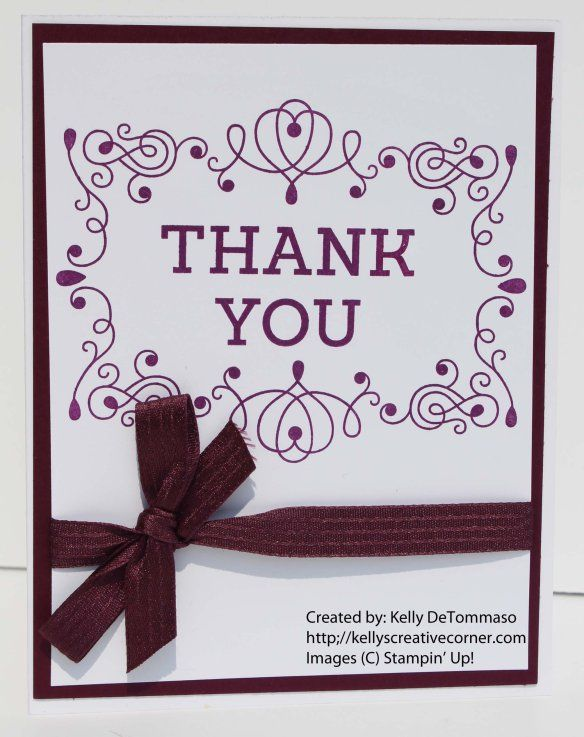 Quick And Easy Thank You Cards Greeting Cards Handmade Thank You Cards Snowflake Cards