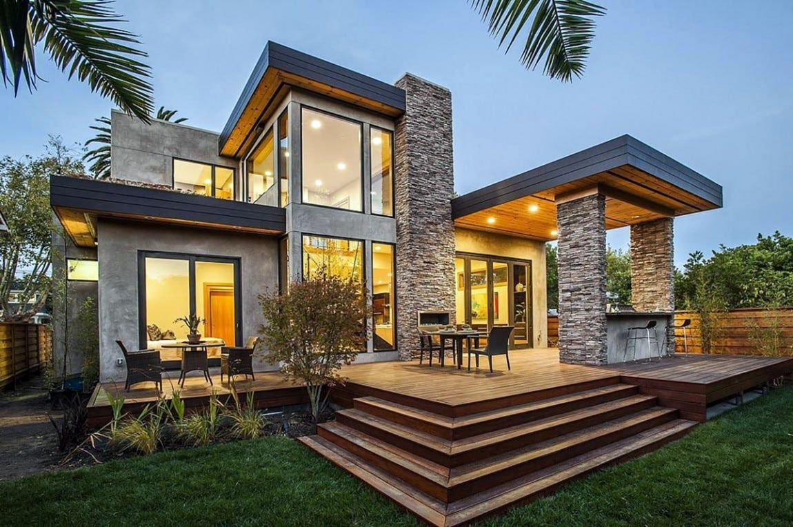 Exterior 6 Extraordinary Home Exterior Designs That Inspire You House Designs Exterior Architecture House Modern Villa Design