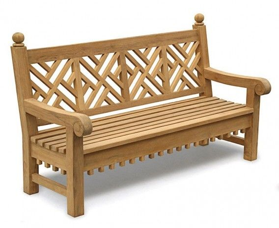 Chiswick Teak 6ft Chippendale Garden Bench In 2020 Teak Garden Bench Wooden Garden Benches Outdoor Garden Bench