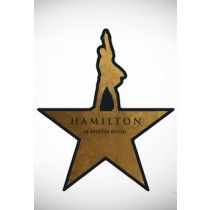 Hamilton Star Magnet, perfect for my fridge!