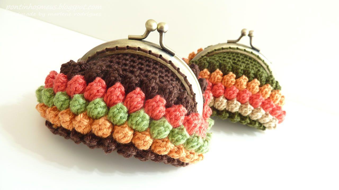 beautiful crocheted purses