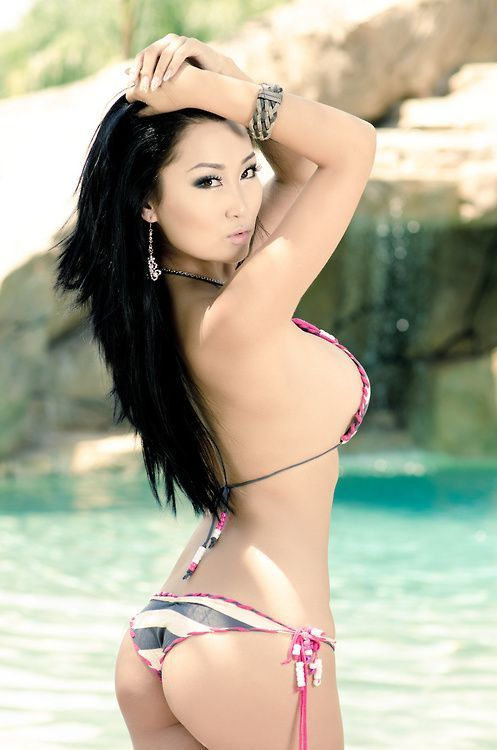 Sexy Asian Jail-bait In Bikini