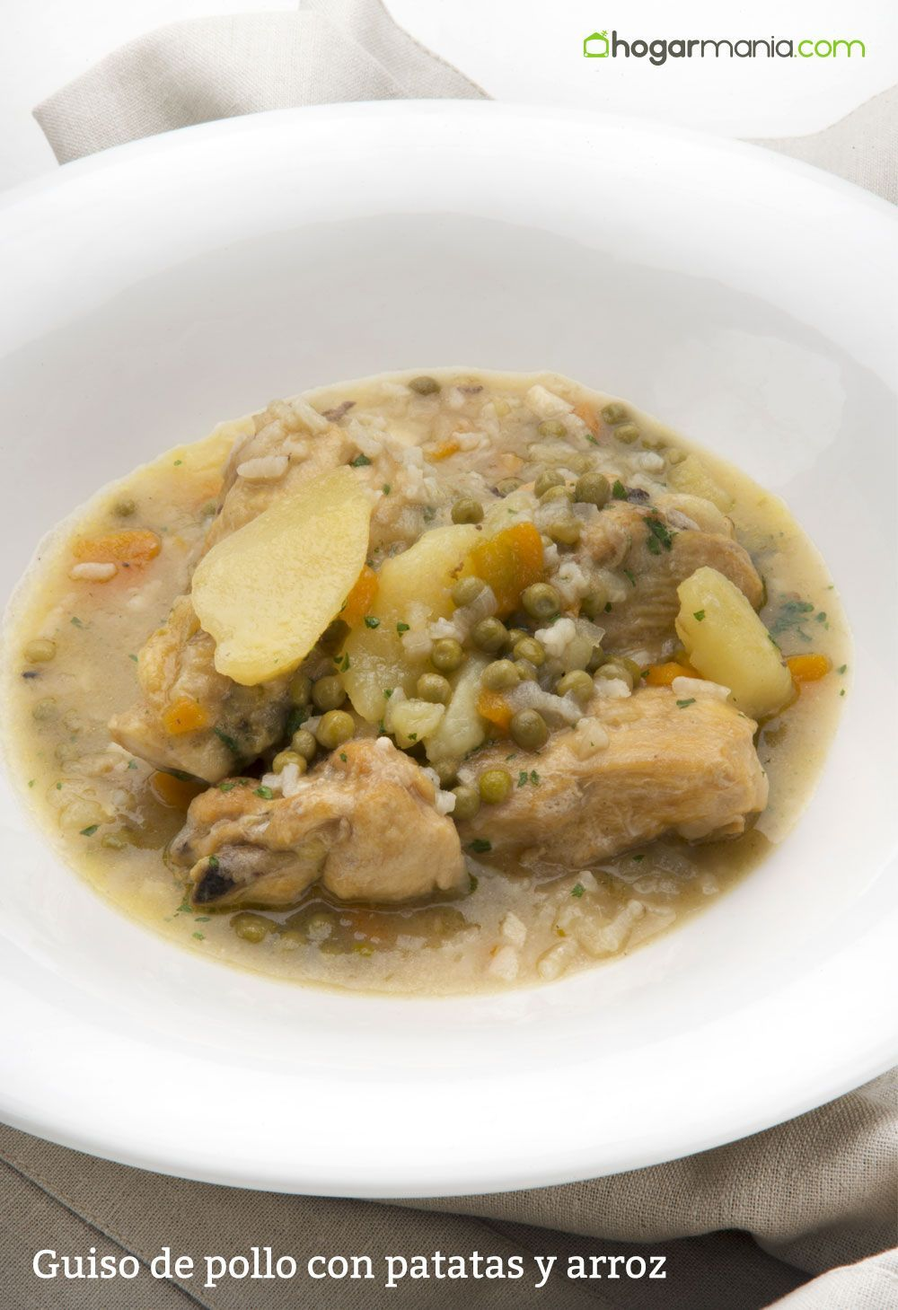 Guiso de pollo con patatas y arroz, receta de Karlos Arguiñano ...