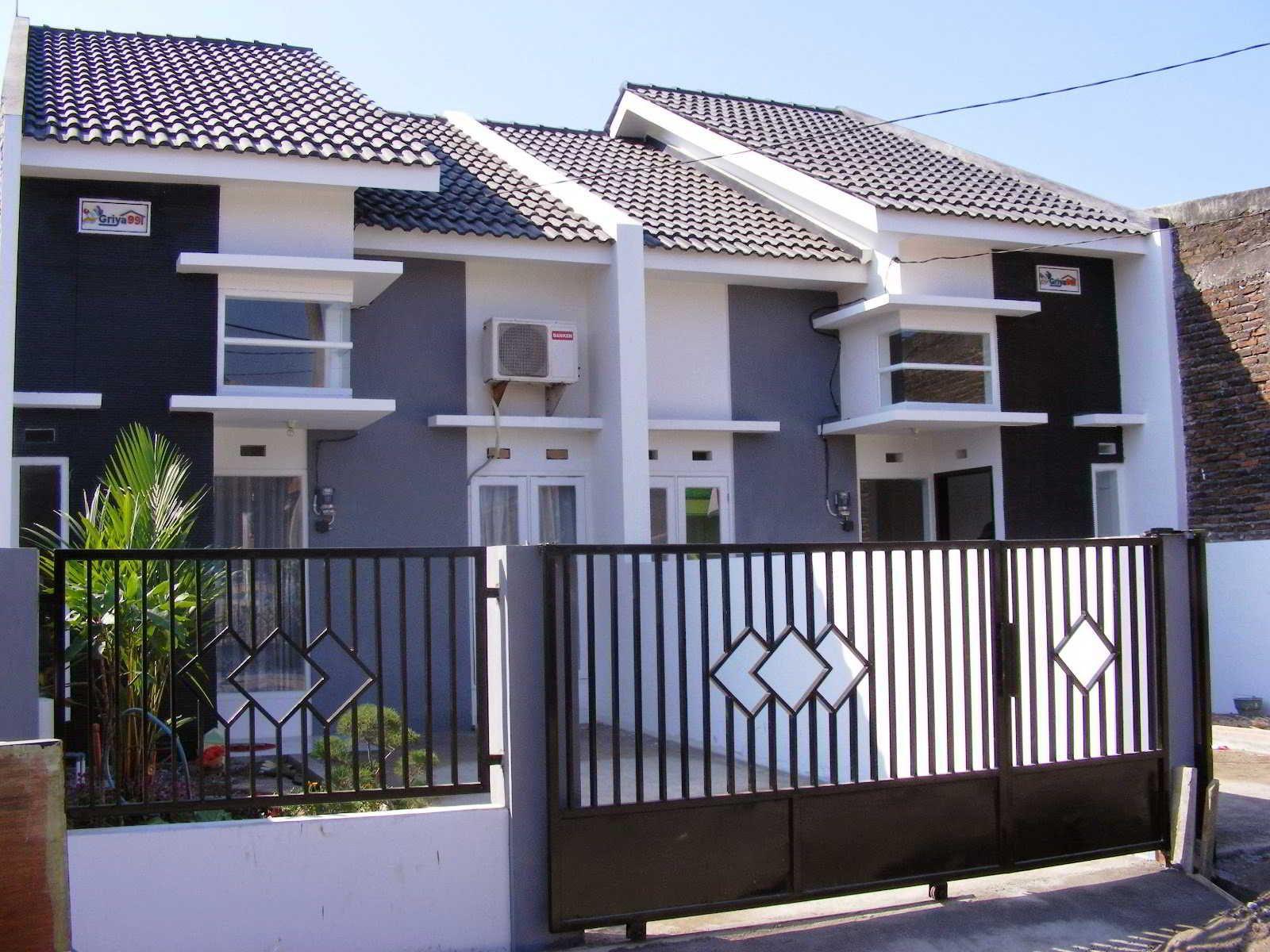 Desain Pagar Rumah Bagus Cek Bahan Bangunan