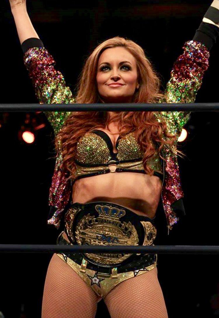 Tna Knockouts Champion Maria Kanellis Bennett Pro