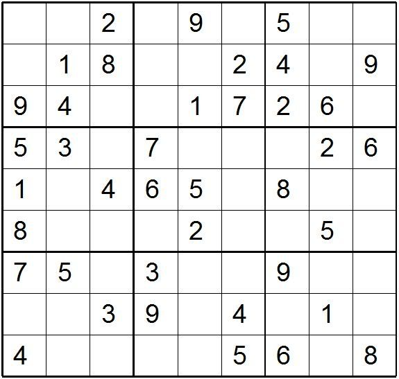 Sudoku Printable Print Sudoku Puzzles For My Nerdy Side Sudoku