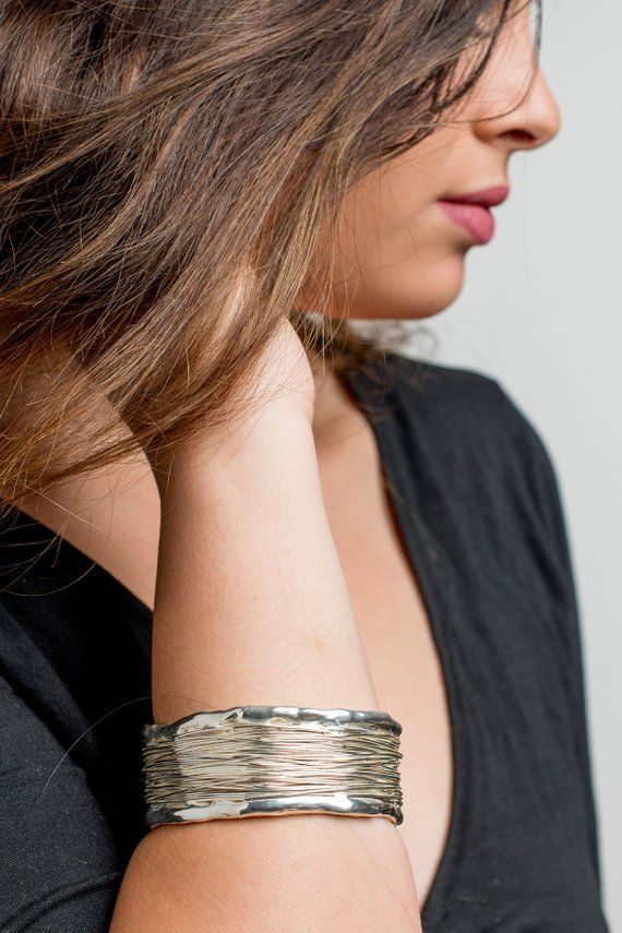 33d70ea70f11d wide silver bangle bracelet - 925 sterling silver bracelets for ...