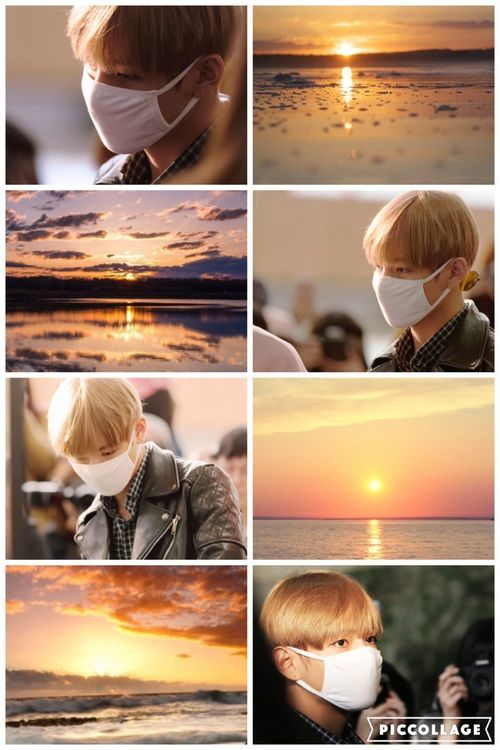 Aesthetic Collage And Kim Taehyung Image Taehyung