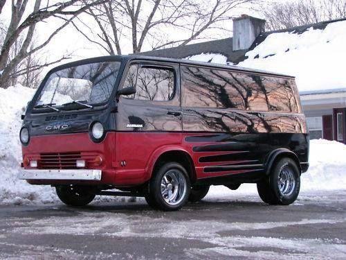 Pin By Thunders Garage On Vans Panels Buses Rule Gmc Vans Chevy Van Cool Vans