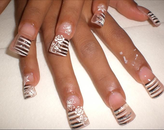 Clear Nail Art Designs Clear And Wide Nail Art Photo Tags Mix