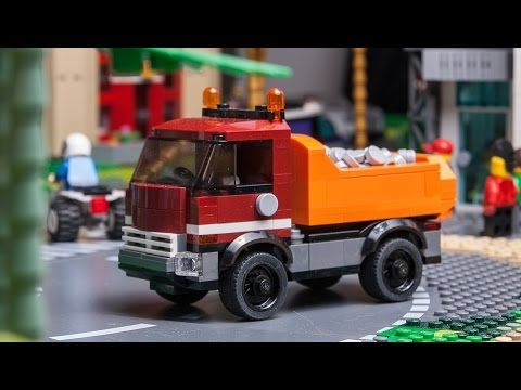 how to make LEGO CITY DUMP TRUCK custom car moc tutorial  - YouTube