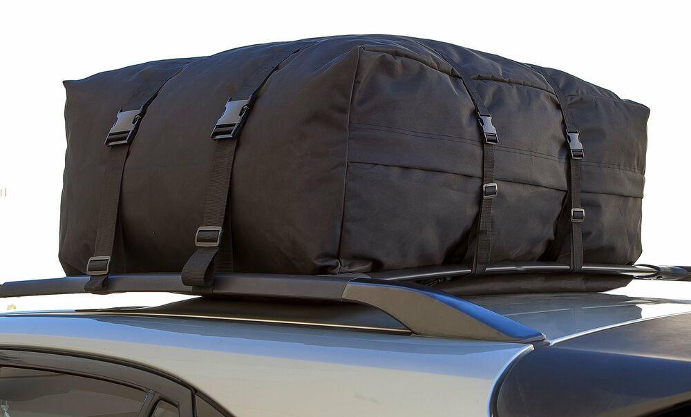 Roof Top Cargo Rack Waterproof Carrier Bag for Vehicles