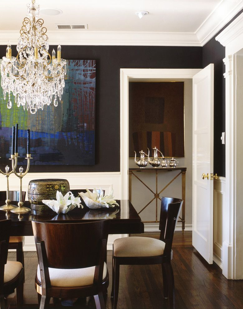 Dining Room With Chandelier Stunning Penthouses In Los Angeles Wood Floor Chairs Table Chandelier 2018