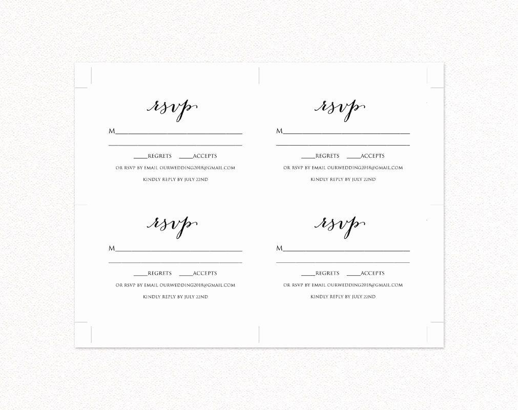 Free Place Card Template 6 Per Sheet Inspirational Wedding ...