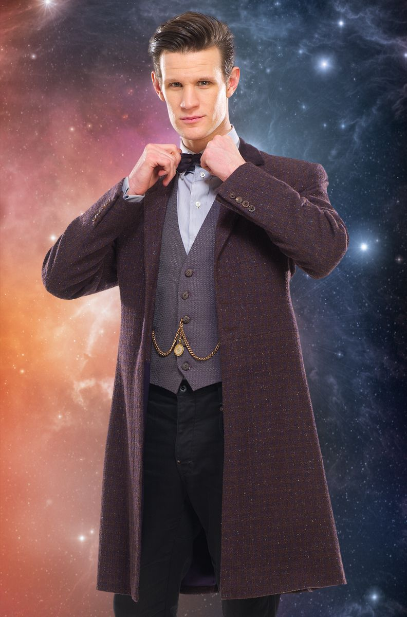 Eleventh Doctor In Frock Coat Doctor Outfit Doctor Costume Doctor Who