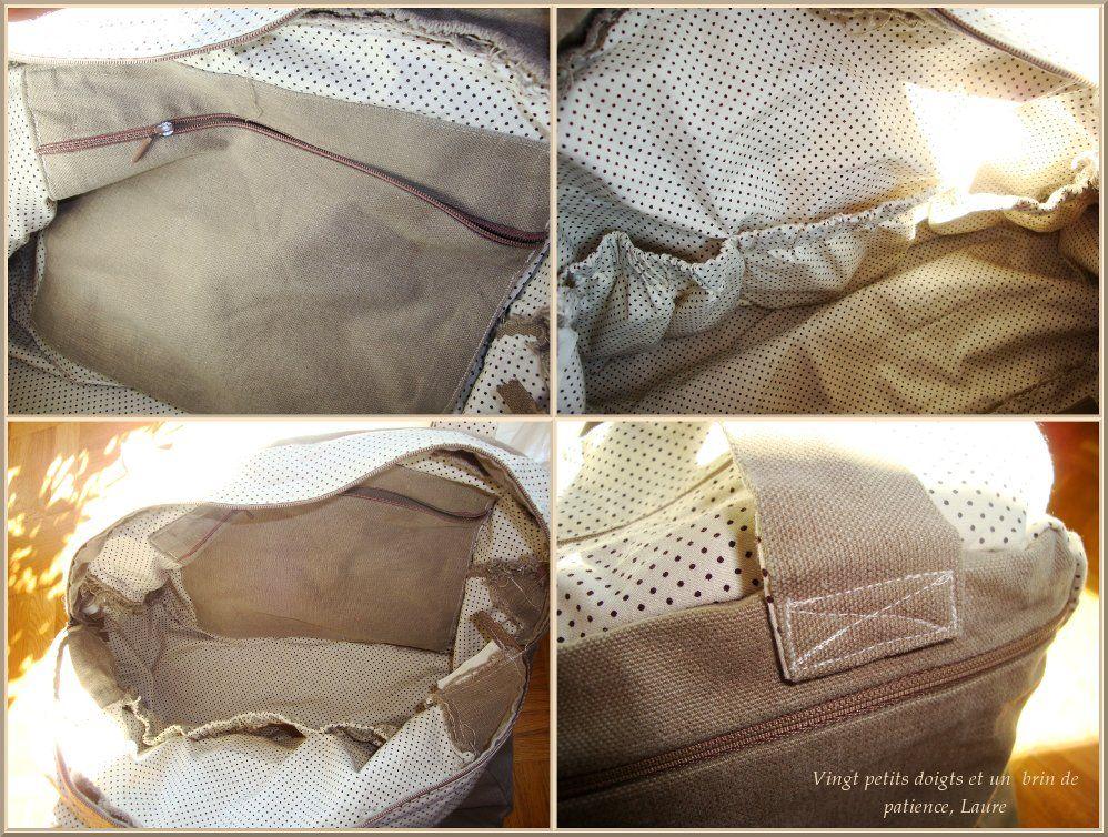 patron couture gratuit sac a langer