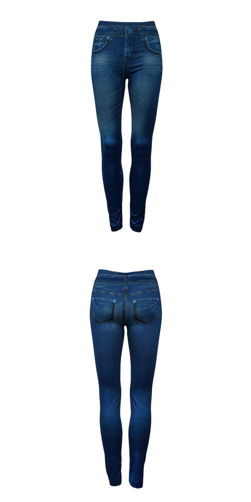 97c80c8ff0b79 Lady denim high waist jeans seamless sexy women jeans skinny stretch slim  pencil pants leggings fashion skinny pants #women #jeans #pencil #pants  #button ...