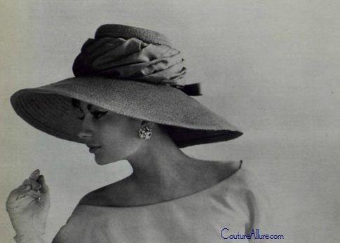 Cappello di Jean Patou 1950  0e9142f00cbd