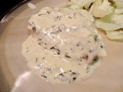 Cilantro Cream Chicken~low carb