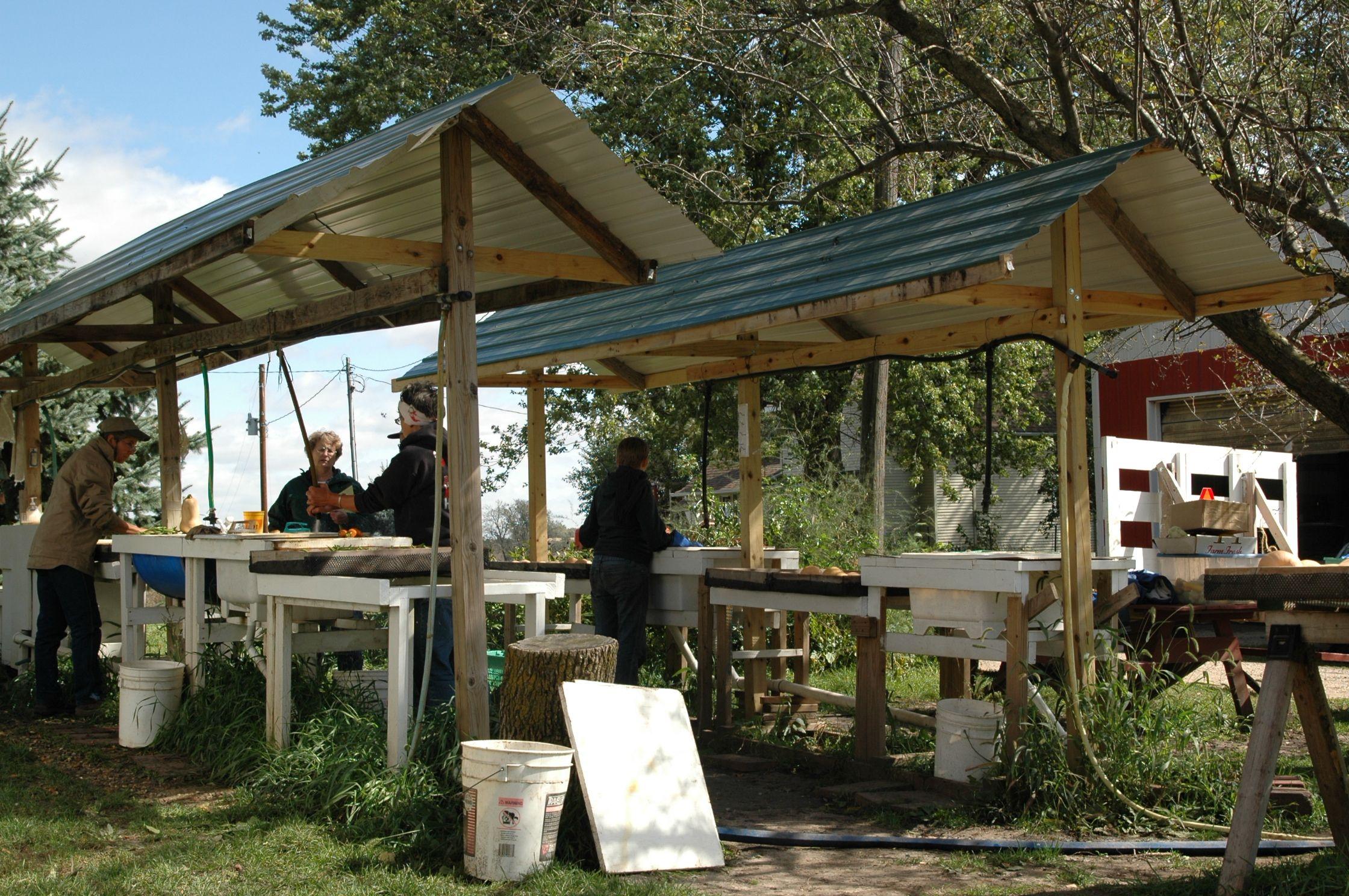 vegetable washing station | farm projects | Pinterest | Farming ...