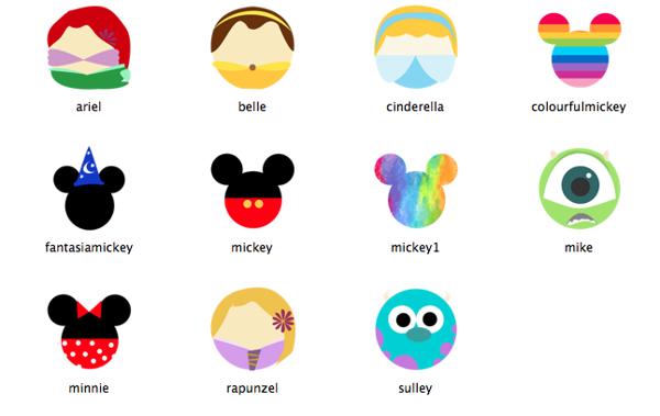 Disney Icons on Behance