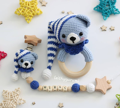 Cuddle Me Bear amigurumi pattern - Amigurumi Today | 360x400