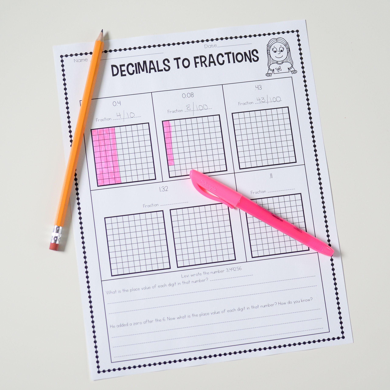 Introducing Decimals