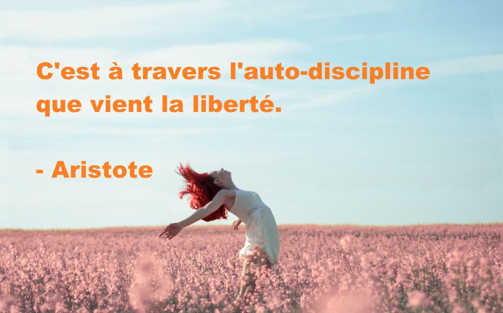 15 citations inspirantes sur l'auto-discipline #discipline