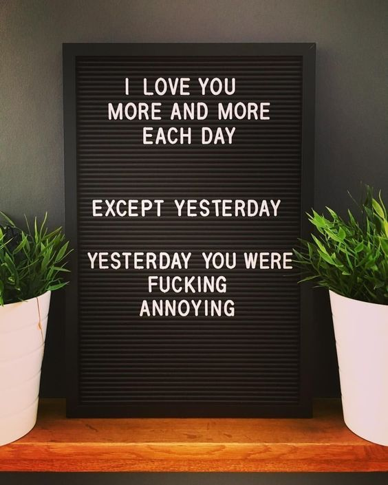 33 Letter Board Quotes So Funny You'll ROFL