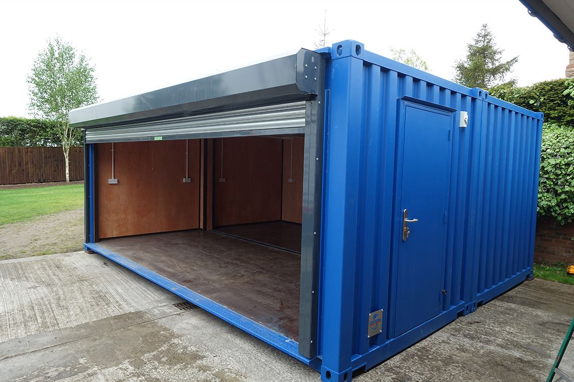 Lovely Shipping Container Storage Ideas