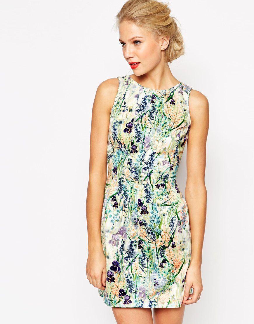 Coast Rihanna Dress in Floral Print