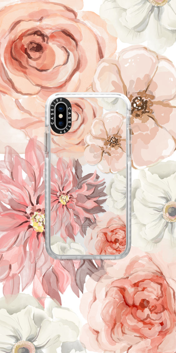 Casetify Iphone Art Design Illustrations Floral Flower Collection Cool Wallpaper Flower Iphone Cases Iphone Phone Cases Casetify Iphone Case