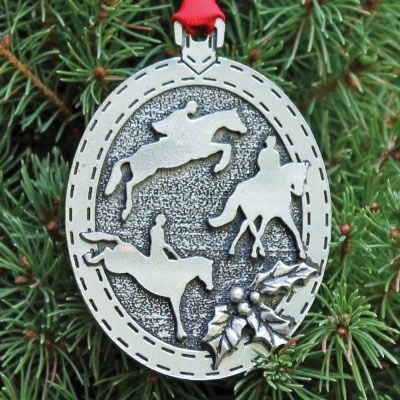Great holiday ornaments for all disciplines! Great stocking stuffers for the horse lover in your life!