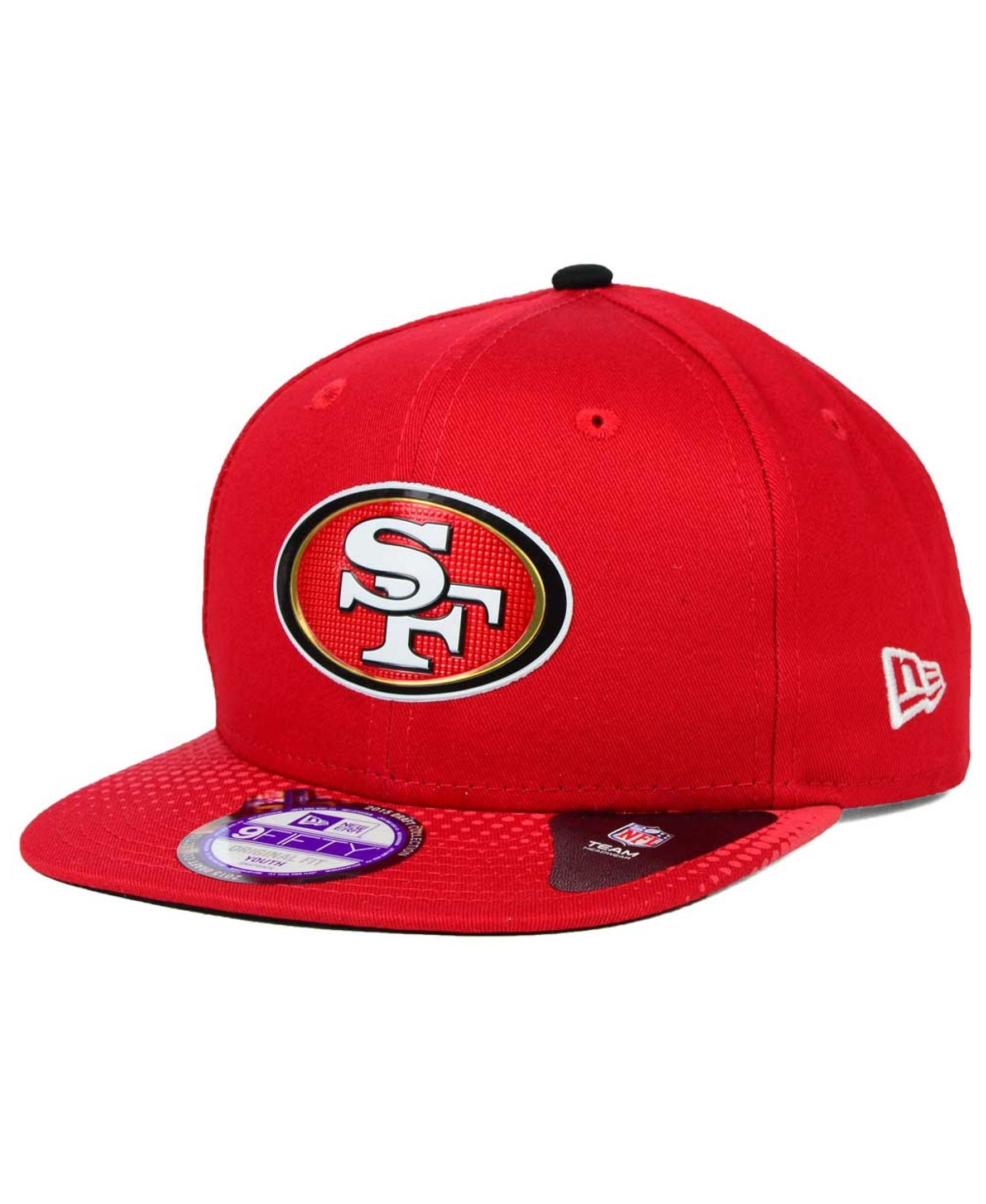 premium selection 85078 f8351 New Era Kids  San Francisco 49ers 2015 Nfl Draft 9FIFTY Snapback Cap