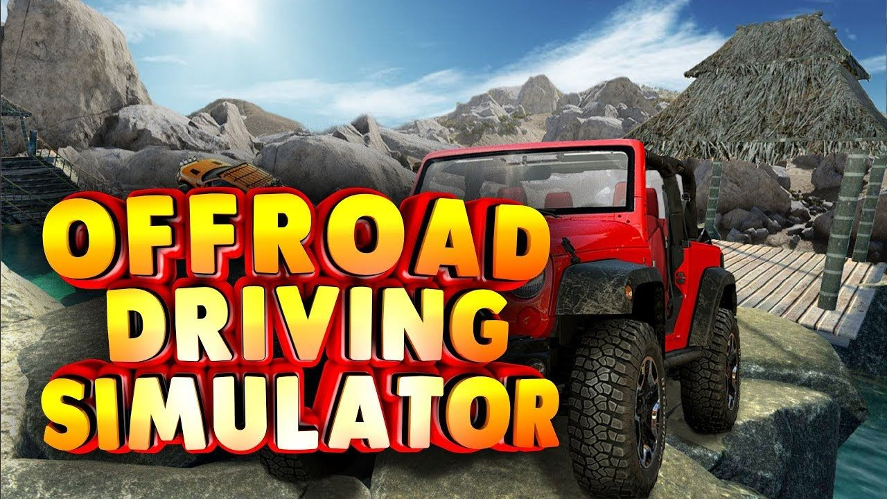 Offroad Driving Simulator 4x4 Jeep Mudding Drive Android