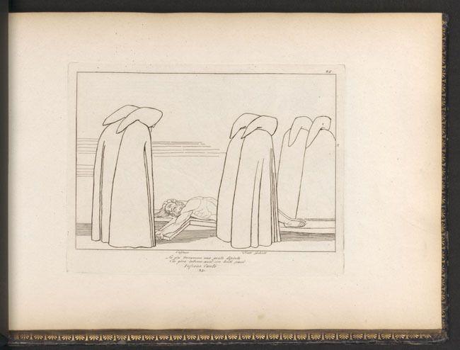 39. Flaxman, El infierno. ¿Goya imito esta composición?