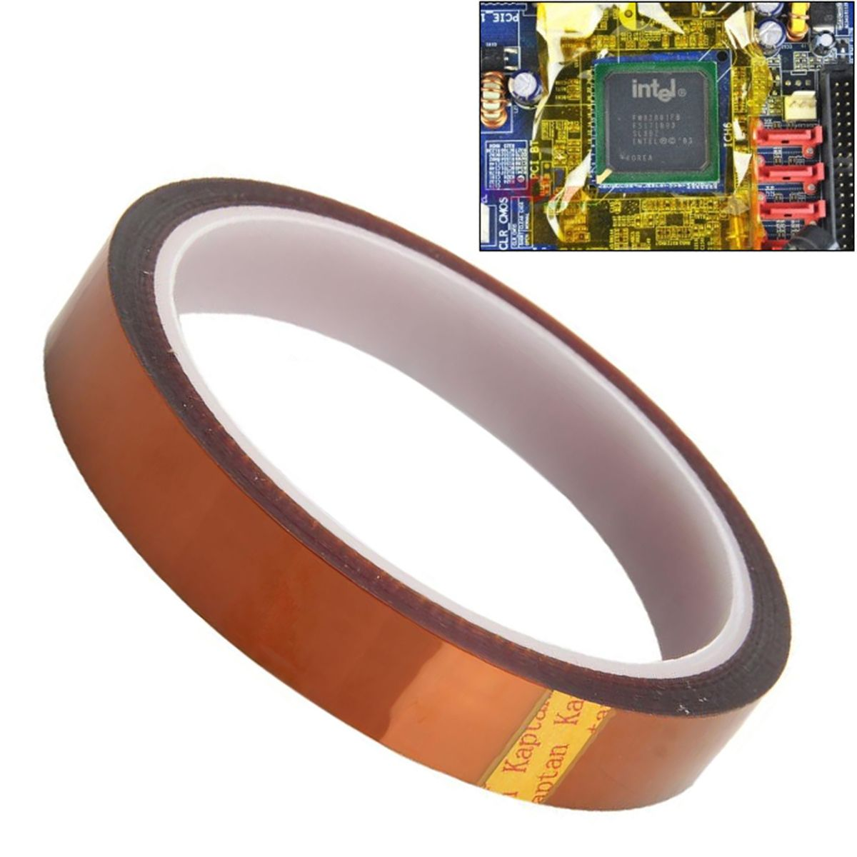 2.65US $ 35% OFF|Mayitr Adhesive Polyimide Tape High Temperature Heat Resistant Tapes for BGA Reworks Transformer Electronic Industry 33m * 15mm|tape tape|industrial tapebga tape - AliExpress