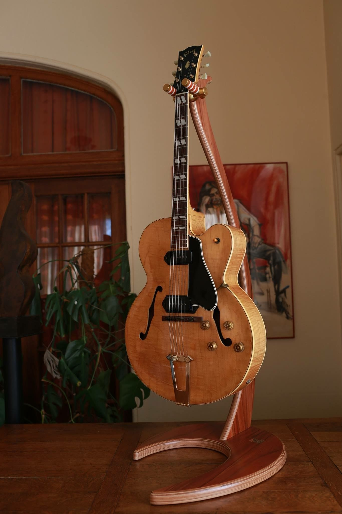 1953 Gibson Es 350n With Images Cool Guitar Vintage Guitars