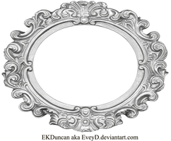 Ornate Silver Frame Wide Oval By Eveyd Royal Frame Vintage Frames Antique Frames
