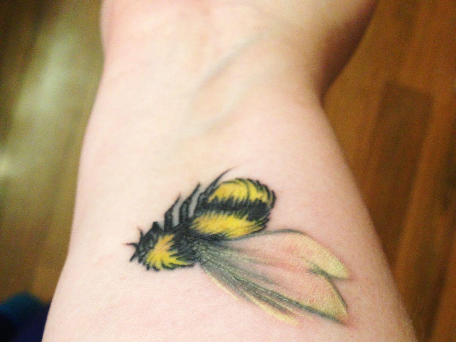 Misfit Isle: The Buzz on My First Tattoo