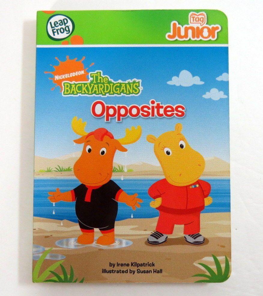 LeapFrog Tag Pen LeapReader Junior Book — THE BACKYARDIGANS OPPOSITES