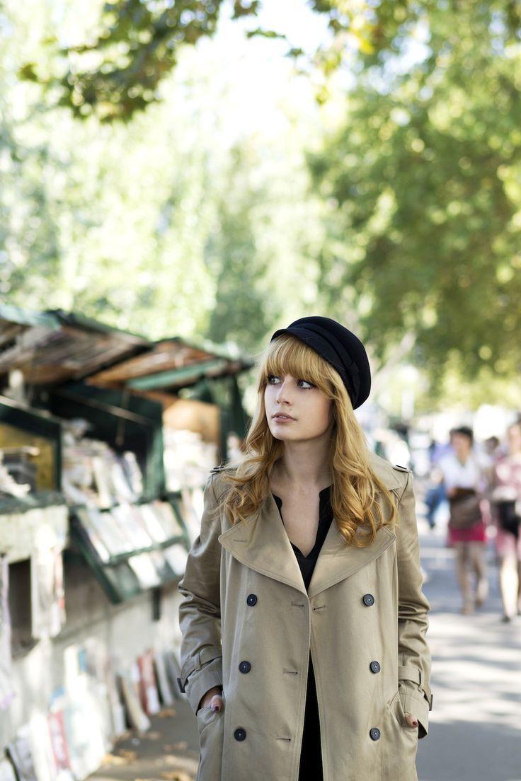 ベレー帽のかぶり方とコーデ 女性ヘアアレンジ海外画像特集 女性