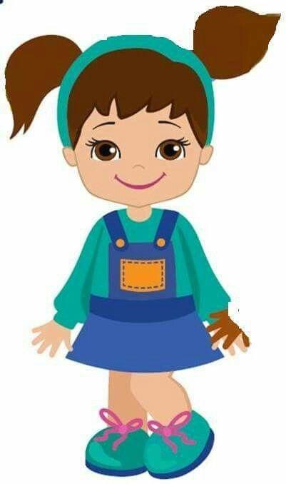 Bonecas Meninas Desenhos De Criancas Brincando Imagens