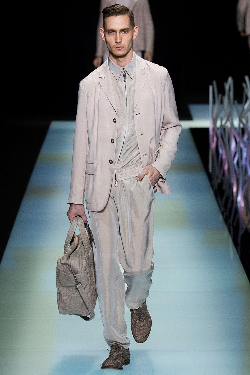 Giorgio Armani Menswear, propuesta primavera-verano 2016